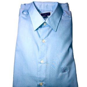 Club Room light blue button down dress shirt men